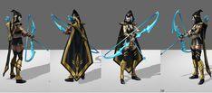 Ashe League of Legends Reference 1 by ShinjusWorkshop.deviantart.com on @deviantART