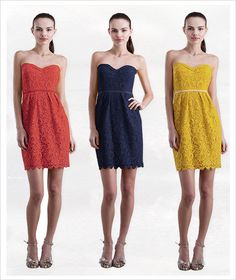 Lacey Jenny Yoo Bridesmaid Dresses! Way cute and only available @Brideside