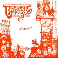 Various: Bosporus Bridges – A Wide Selection Of Turkish Jazz & Funk 1968 to 1978
