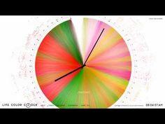 LIFE COLOR CLOCK | SHISEIDO - YouTube