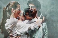 写真をいくつも重ねる加工が素敵*『二重露光』のウェディングフォトがロマンティックで幻想的♡にて紹介している画像