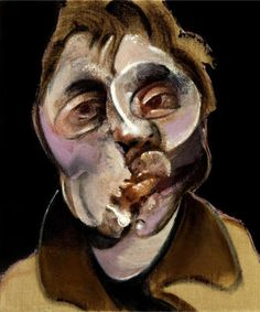 Francis Bacon, Self Portrait 1969; I do love Francis Bacon.