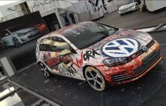 Volkswagen Golf MK7 GTI Awesome Art Work :)