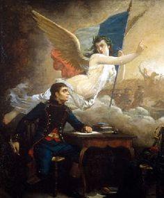 Rouget de Lisle composant la Marseillaise - par Auguste Pinelli 1875-1880 (Musée historique de la Révolution française, Vizille)