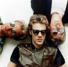 The Police (1983) - promotional foto, as far as I know by Lynn Goldsmith.