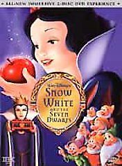 Snow White and the Seven Dwarfs (DVD, 2001, 2-Disc Set Platinum Edition) NEW!
