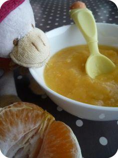 Compote-pomme-clementine pour petits et grands