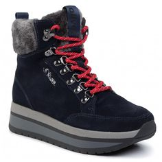 Botine S.OLIVER - 5-25209-33 Navy 805 Hiking Boots, High Tops, High Top Sneakers, Shoes, Fashion, Moda, Zapatos, Shoes Outlet, Fashion Styles