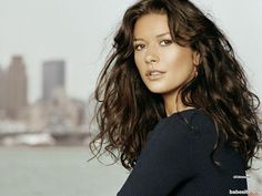 Catherine Zeta Jones - For a long time, I considered her one of the most beautiful women in the world.