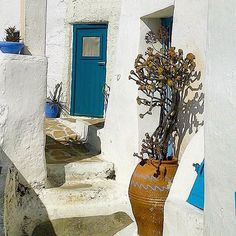 Perfect Cycladic colors , at Anafi island (Ανάφη)☀️. So pure island with wonderful natural landscapes !