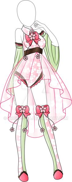 Dress Adoptable 08 - Closed by Tropic-Sea.deviantart.com on @DeviantArt
