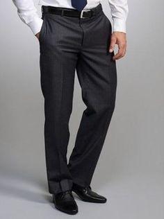Pantalones de traje para hombre