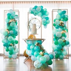 "264 Likes, 4 Comments - Louisa @The Little Big Company (@littlebigcompany) on Instagram: ""Beautiful greens styled by @maryronisevents balloons by @partysplendour cake by @sweetbloomcakes…"""
