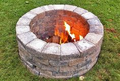 Building a Simple DIY Fire Pit for Your Garden | Bridgman Furniture & Outdoor Living Blog
