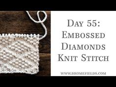 Top 25 Beginner Knit Stitches eBook – Brome Fields