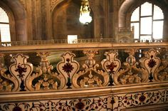 Taj Mahal Interior | Agra Taj Mahal 26 Taj Mahal Mausoleum Interior Inlay Railing Next To ...