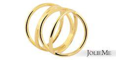 Trendiger Edelstahlring in gold  IP-Goldbeschichtung Top Qualität, sehr angenehm zu tragen Maße: 19mm Breite, 12mm Verjüngung  Art.-Nr.: 0015500XX011655