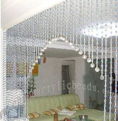 Numerous examples of beautiful beaded curtains @ Michart