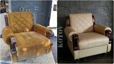 Ремонт мебели своими руками. Реставрация кресел.
