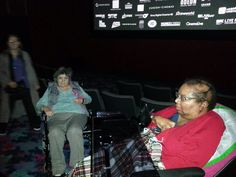 A group from Riversway Nursing Home took time out to visit the cinema recently...