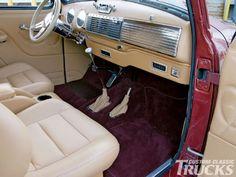 1947 Chevrolet Truck interior
