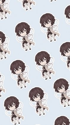 kitsune dazai and nakahara chuuya museum official art. Anime Bl, Art Anime, Anime Kawaii, Anime Chibi, Anime Guys, Cool Anime Wallpapers, Cute Anime Wallpaper, Animes Wallpapers, Dog Wallpaper Iphone