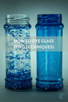How to Dye Glass Pinterest Image