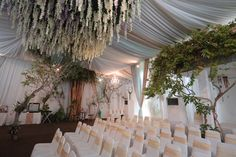 Ideas For Party Themes Elegant Wedding Ceiling Decorations, Engagement Decorations, Backdrop Decorations, Backdrops, Snow Wedding Themes, Wedding Goals, Home Wedding, Dream Wedding, Javanese Wedding