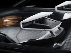 Peugeot Fractal Concept Interior Seat headrests