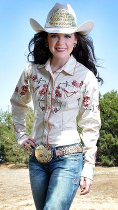 Jamie Wendt 2010 Hesperia PRCA Rodeo Queen