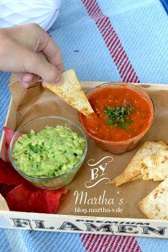 selbstgemachte Tacos mit Guacamole und Tomatensalsa  blog.martha-s.de