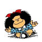 Mafalda Clip Art and Photos. Mafalda Quotes, Me Quotes, Funny Quotes, Foto Poster, Little Bit, Lipton, Spanish Quotes, Spanish Phrases, Gandhi