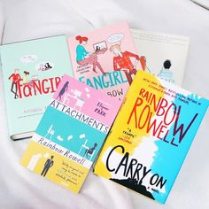 Rainbow Rowell Collection   #rainbowrowell #fangirl #carryon #attachments #eleanorandpark by ineffablepages