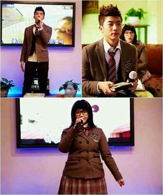 IU - Wooyoung. Love this scene!