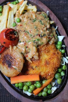 Fried chicken sizzler recipe continental recipes 2 pinterest sizzler is one of the most requested recipe in yummy tummy for many years forumfinder Images