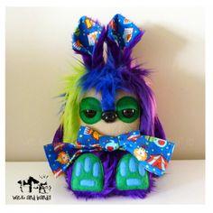 $60 Izumi Yetirabbit by Wickandbandit on Handmade Australia