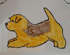 norfolk terrier silhouette - Pesquisa Google Norfolk Terrier, Terriers, Moose Art, Cherry, Crafting, Silhouette, Google, Illustration, Animals