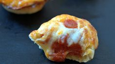 One-bite pizzas made in mini muffin tins are great for game day apps or grab-and-go snacks.