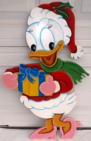 affordable handcrafted wood movie tv characters yard decorations displays that brighten the holiday spirit of anyone