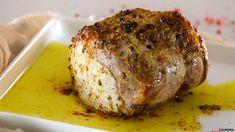 Receita de Lombo de porco assado no forno. Descubra como cozinhar Lombo de porco assado no forno de maneira prática e deliciosa!