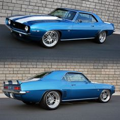 in we're celebrating 50 years of the 1969 Camaro, a car that is very near and dear to our hearts. If it weren't for this car, there… Chevy Muscle Cars, Best Muscle Cars, American Muscle Cars, Camaro Ss 1969, Chevrolet Camaro 1969, Classic Cars British, Ford Classic Cars, Classic Camaro, Classic Car Restoration