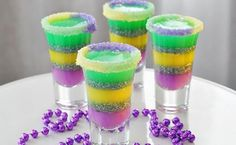 Fat Tuesday/Mardi Gras: Celebrate With a King Cake Shot!