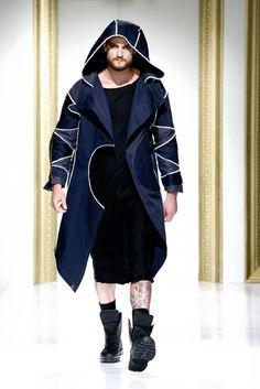 Gala UAD 2013, Designer: Loredana Ghetie, Collection: Urban Etno Catwalk, Duster Coat, Raincoat, Urban, Jackets, Fashion Design, Collection, Rain Jacket, Down Jackets