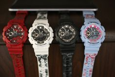 Ladies, new fasionwear is coming your way. G-shock S series new collection is perfect for any sense of style.