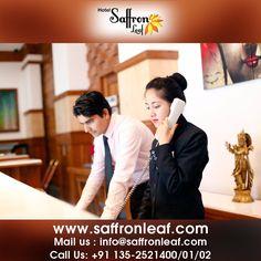 Hotel Saffron Leaf: the best luxury hotels in #Dehradun. Affordable rates, secure booking. #HotelSaffronLeaf  Visit Us at: www.saffronleaf.com Or Contact Us at: 091135-2521400/01/02