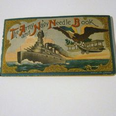 Vintage Collectibles  Sewing Notions  Army Navy by heritagegeneralstore, $7.99