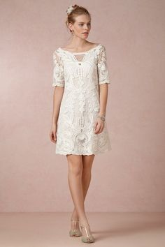 Inspire-se: vestido de noiva curto.
