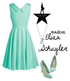 """Hamilton: Modern Eliza Schuyler"" by sadiemaeve-mckenna ❤ liked on Polyvore featuring Bloomingdale's, modern, Hamilton, musicaltheater, ElizaSchuyler, HamiltonbySadie and modernhamiton"