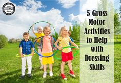Gross motor activities that focus on postural control, trunk rotation, bilateral coordination, eye hand coordination, motor planning and balance skills are beneficial when it comes to developing independence with dressing. Here are 5 suggested activities: Play games where the child has to reach outside of his/her base of support without falling over. Practice in sitting …