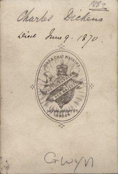 John & Charles Watkins, 1862
